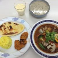 精進料理教室カレースープ